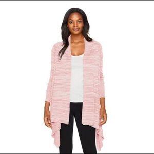 prAna Pink Loveland Wrap Cardigan Sz.Lg